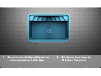 SPLASH размер 3,0х2,0 глубина 1.5 м