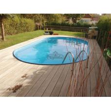 Бассейн Summer Fun овальный длина 5,2 м, ширина 3,2 м, глубина 1,2 м
