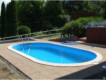 Бассейн Summer Fun овальный длина 5,3 м, ширина 3,2 м, глубина1,2