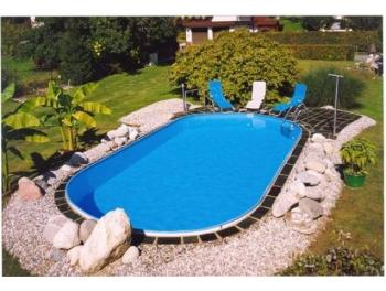 Бассейн Summer Fun овальный длина 6,0 м, ширина 3,2 м, глубина 1,2 м.