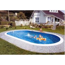 Бассейн Summer Fun овальный длина 7,0 м, ширина 3,5 м, глубина 1,2 м.