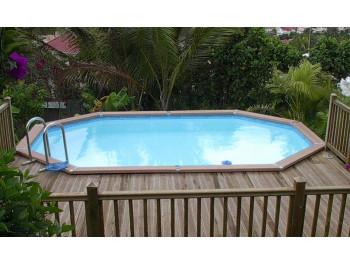 Бассейн Summer Fun овальный длина 8,0 м, ширина 4,2 м, глубина 1,2 м.