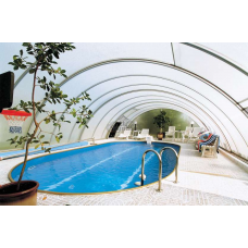 Бассейн Summer Fun овальный длина 9,0 м, ширина 5,0 м, глубина 1,2 м.