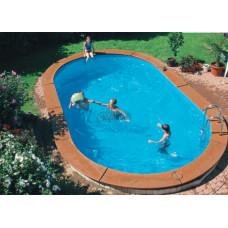 Бассейн Summer Fun овальный длина 5,3 м, ширина 3,2 м, глубина 1,5 м.