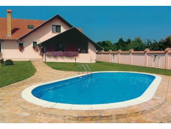 Бассейн Summer Fun овальный длина 8,0 м, ширина 4,2 м, глубина 1,5 м.