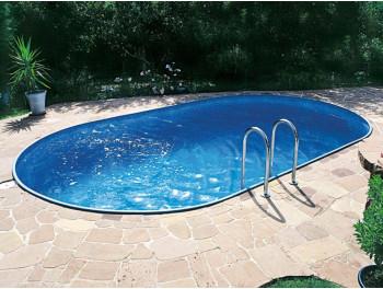 Бассейн Summer Fun овальный длина 9,2 м, ширина 4,6 м, глубина 1,5 м.