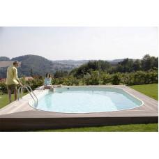 Бассейн Summer Fun овальный длина 7,0 м, ширина 3,5 м, глубина 1,5 м.