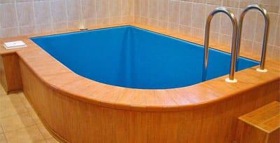 Купель для бани из пропилена в Крыму и Симферополе прослужит дольше деревянных аналогов