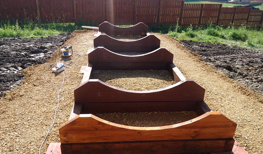 Основание для квадро бани бочки в Симферополе можно построить за один день
